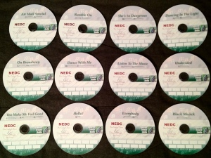 Competition CDs are ready to go