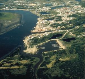 Bethel Alaska aerial view